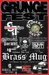 Grunge Fest 2014 flyer